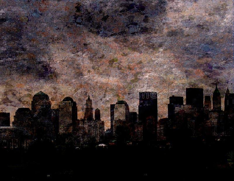 NYC ilustração stock