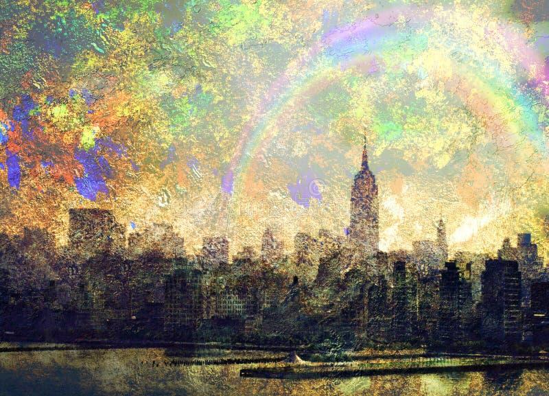 NYC royalty-vrije illustratie