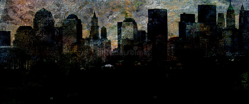 nyc απεικόνιση αποθεμάτων