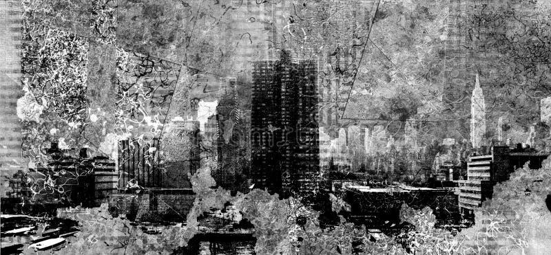 NYC иллюстрация штока