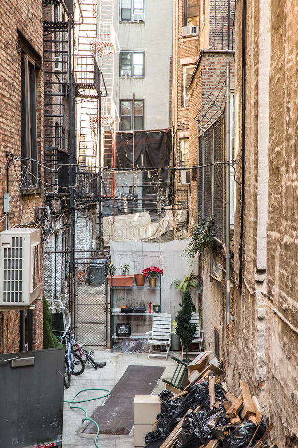 NYC Alley Stock Photo - Image: 64446338
