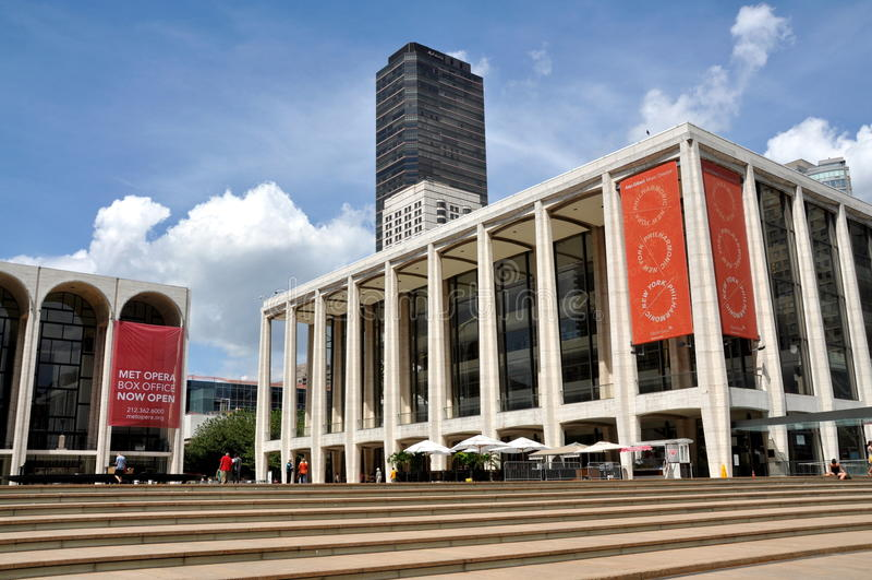 NYC: Avery Fischer Salão no centro de Lincoln fotos de stock royalty free