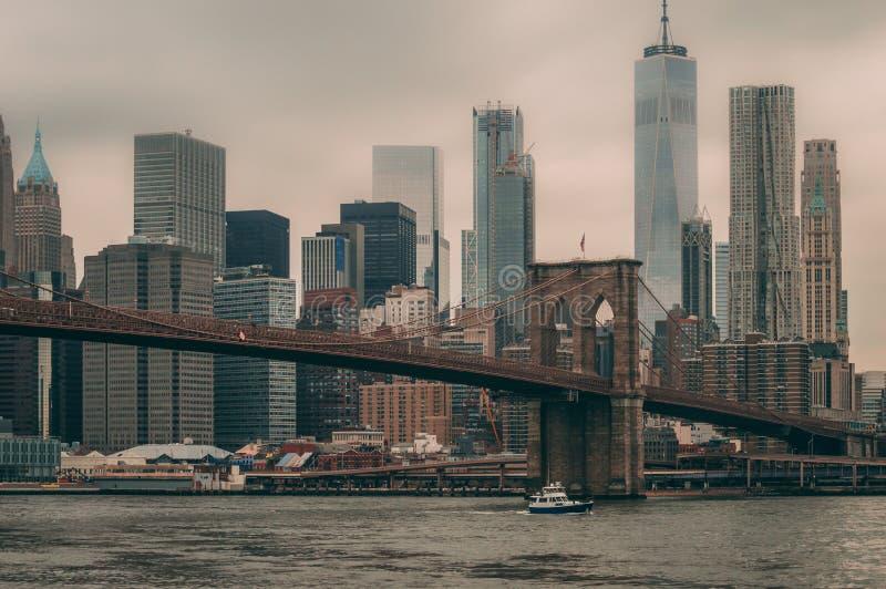 NYC a BKN foto de stock royalty free