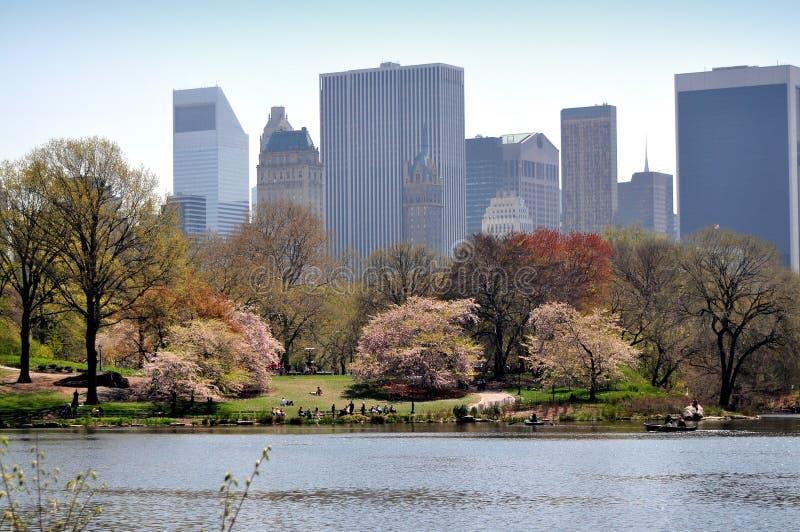 NYC : Central Park et horizon de Midtown photographie stock libre de droits