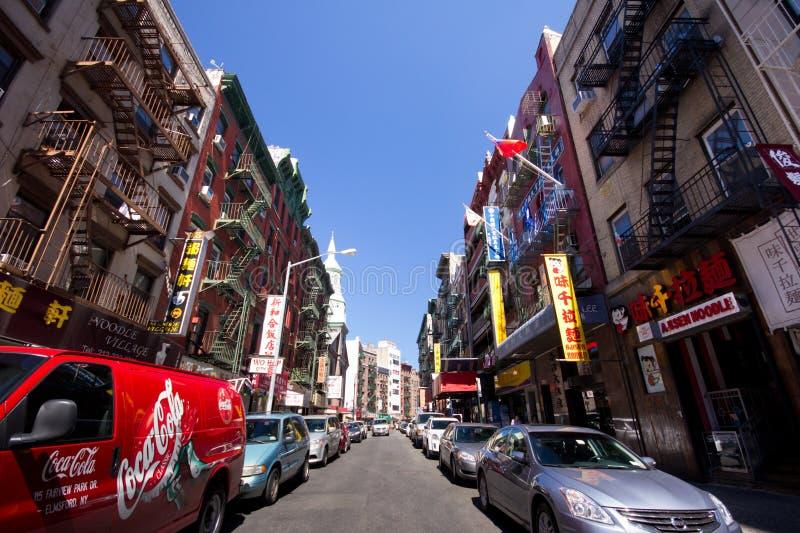 NYC Chinatown lizenzfreie stockfotografie