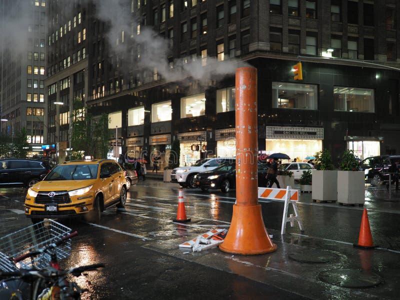 NYC-Dampfstapel stockfotos
