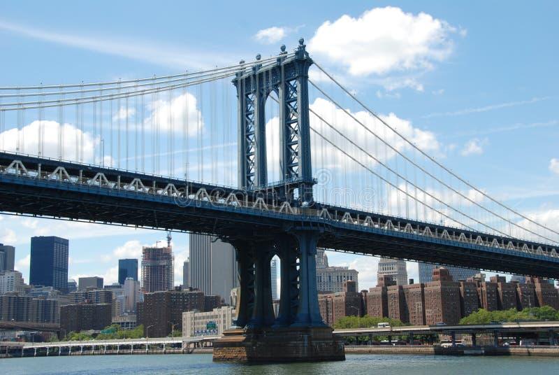NYC: De brug van Manhattan stock afbeeldingen
