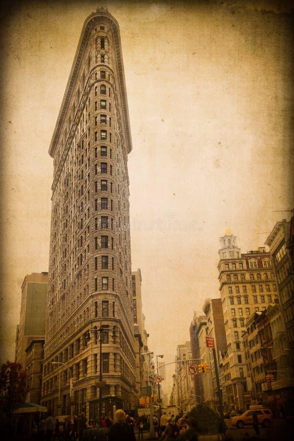 NYC-de Strijkijzerbouw royalty-vrije stock afbeelding