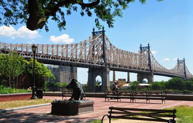 NYC:  Den Queensboro bron royaltyfri fotografi
