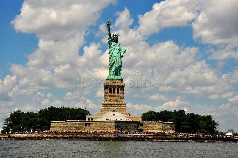 NYC: A estátua da liberdade fotografia de stock royalty free