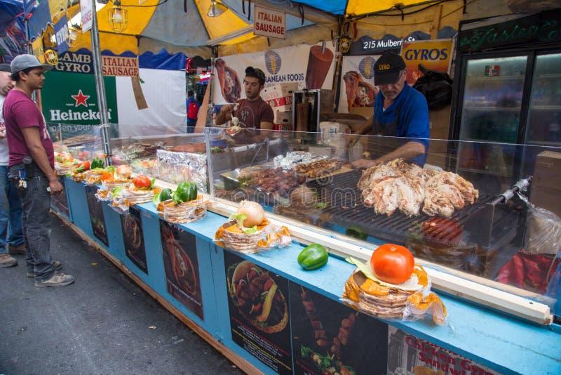 NYC-Fest von San Gennaro lizenzfreies stockfoto