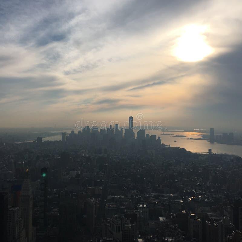 NYC-Gemoedsgesteldheid stock afbeelding