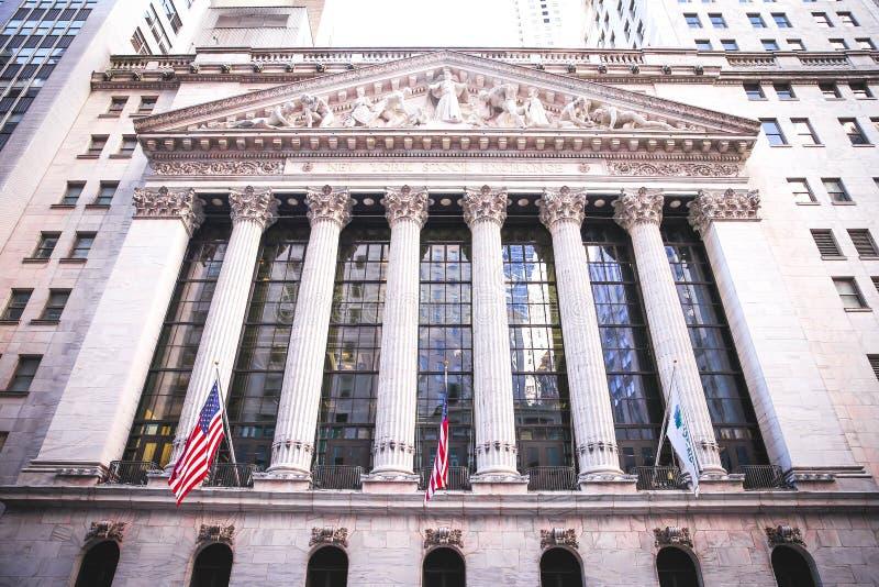 Download NYC Giełda Papierów Wartościowych Obraz Stock Editorial - Obraz złożonej z city, wymiana: 57671119
