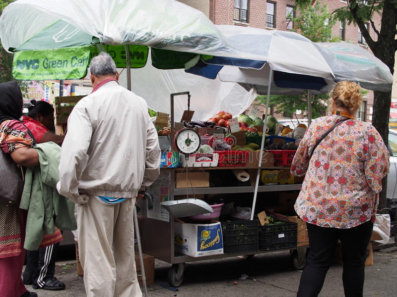 Download NYC Green Cart editorial image. Image of tisch, jerome - 41489445