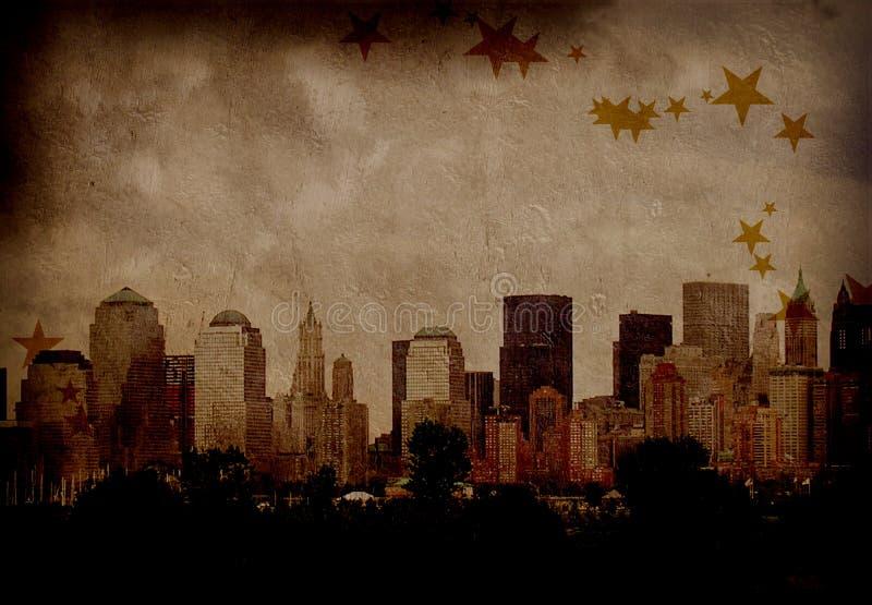 NYC Grunge Royalty Free Stock Photo