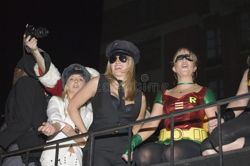 Download NYC Halloween parade editorial stock image. Image of halloween - 6931969