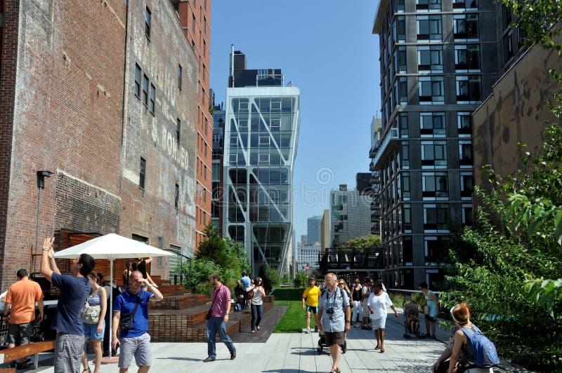 NYC: Het hoge Park van de Lijn royalty-vrije stock foto's