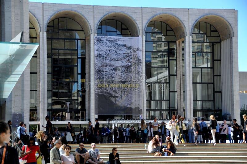 NYC: Het ontmoete Huis van de Opera & de Week van de Manier royalty-vrije stock afbeelding