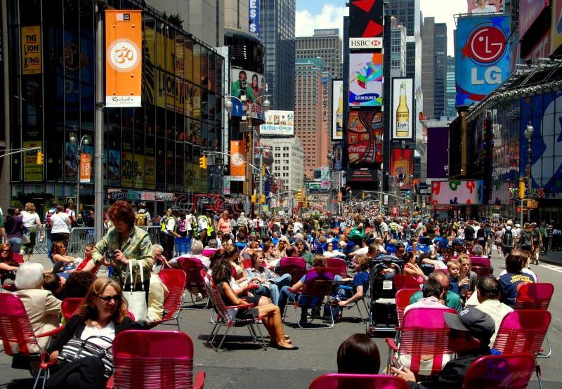 NYC: Het voet Vierkant van de Wandelgalerij af en toe royalty-vrije stock foto's