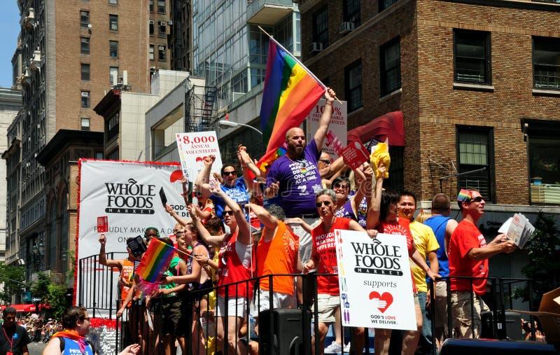 NYC: 2014 homossexual Pride Parade imagens de stock