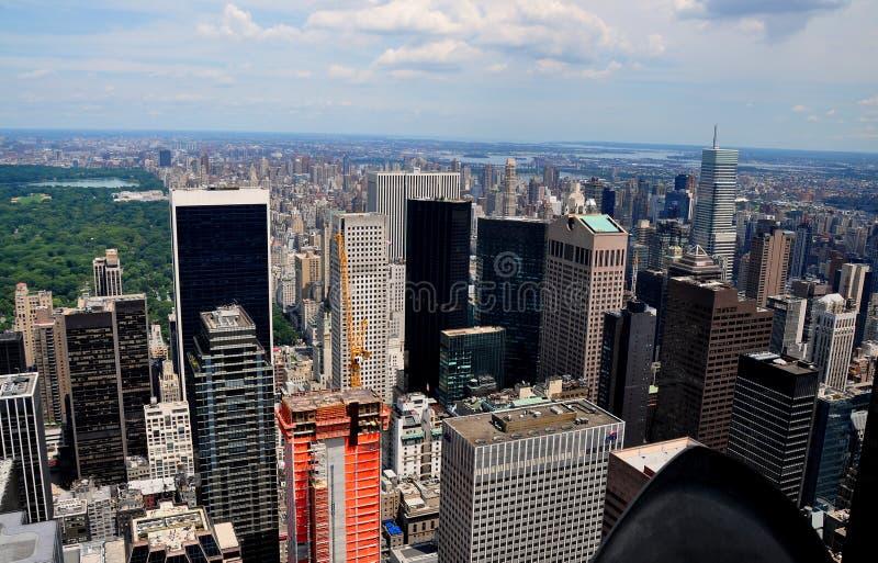 NYC : Horizon de Midtown Manhattan photos stock