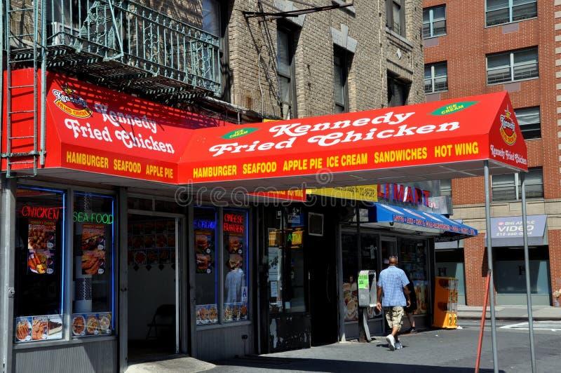Download NYC: KFC-Gaststätte In Harlem Redaktionelles Stockfoto - Bild von markisen, hamburger: 27733028