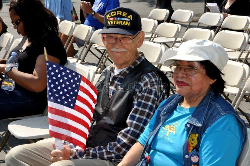 NYC: Korean War Vet at Memorial Day Event