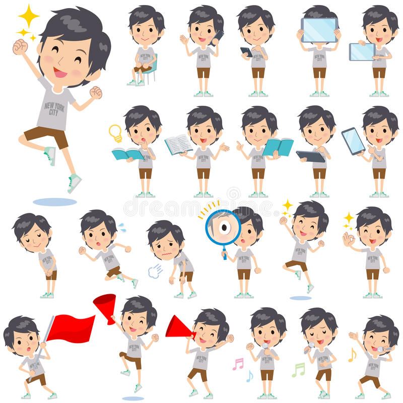 NYC koszulki połówka dyszy mężczyzna 2 ilustracji