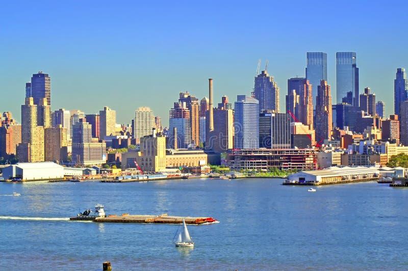 NYC linia horyzontu 63 obrazy stock