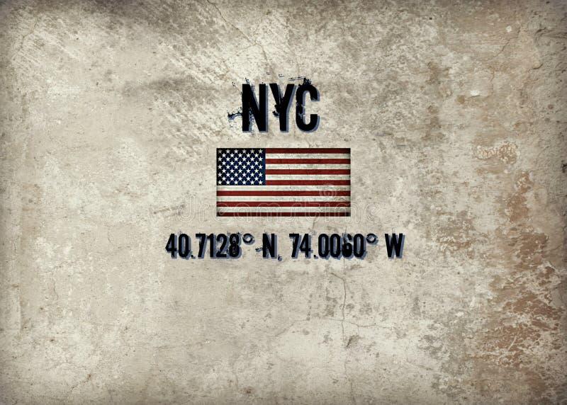 NYC libre illustration