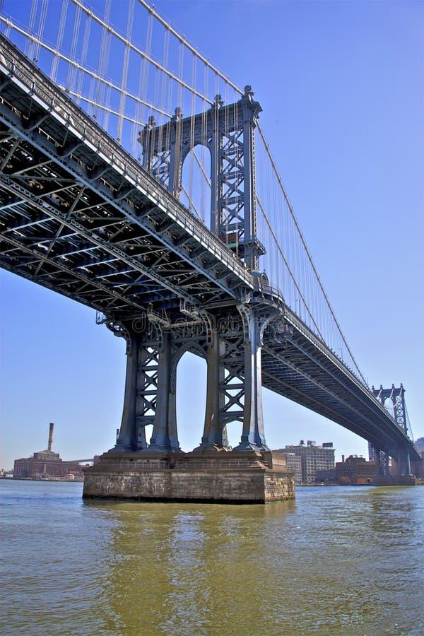 nyc manhattan моста стоковая фотография rf