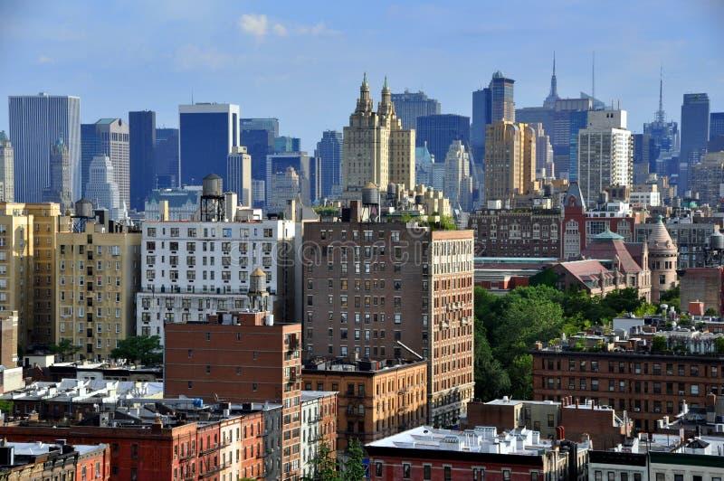 NYC : Manhattan Vista et horizon photo libre de droits