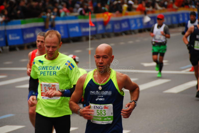 NYC-Marathon 2013 stockfotos
