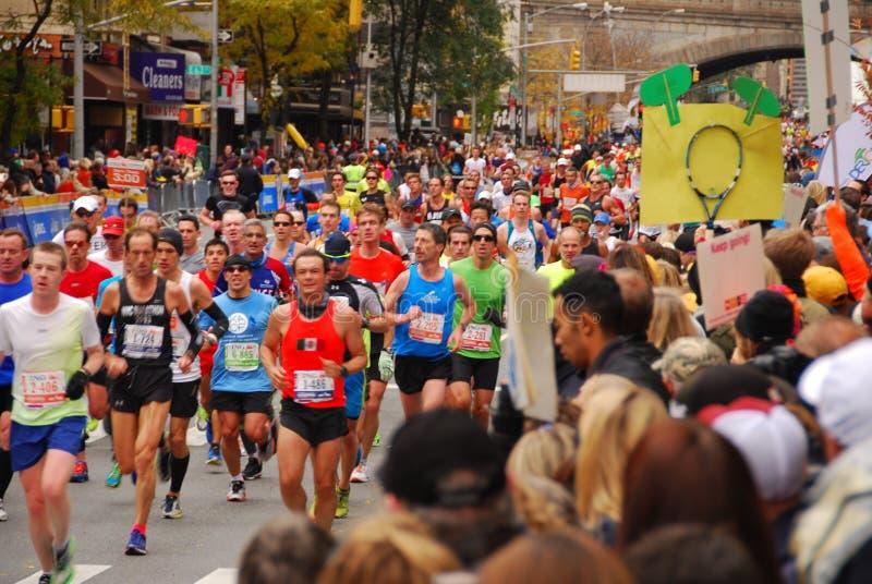 NYC-Marathon 2013 royalty-vrije stock afbeeldingen