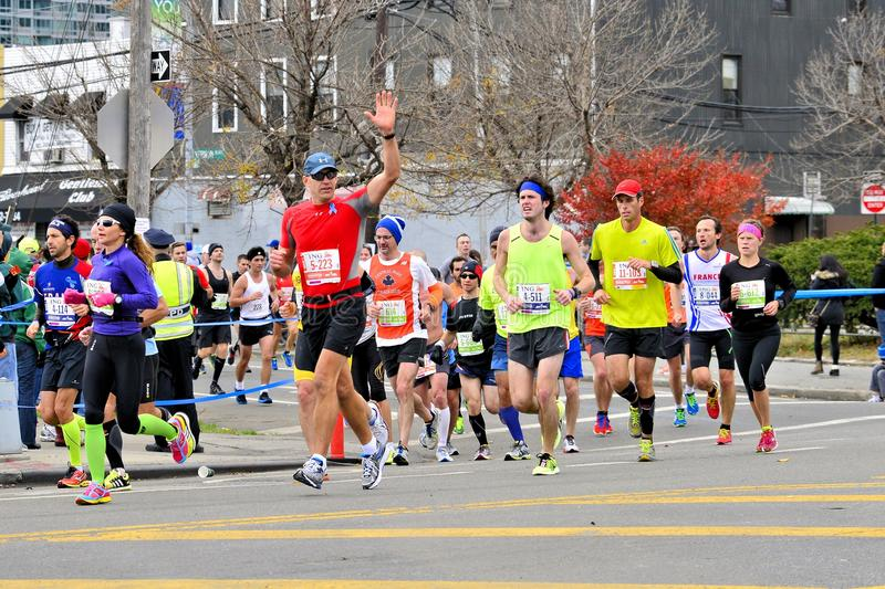 Download 2013 NYC Marathon editorial stock photo. Image of road - 34915263