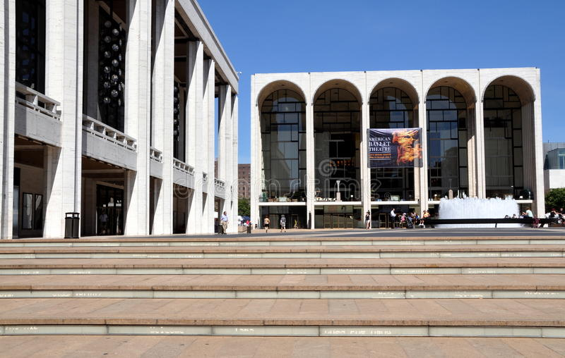 NYC: Met Opera House at Lincoln Center stock photo