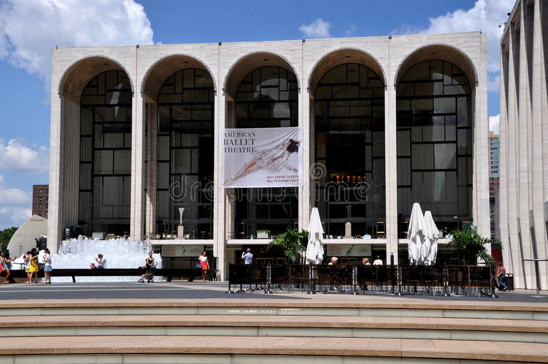 NYC: Metropolitan Opera House stock photo