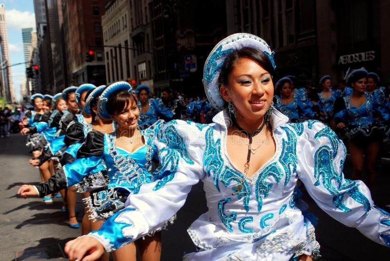 Download NYC: Mexican Independence Day Parade Editorial Stock Image - Image: 14304429