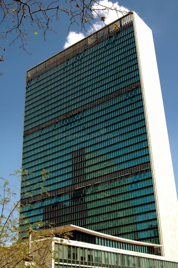 NYC: Nationen-Sekretariat-Gebäude lizenzfreie stockfotografie