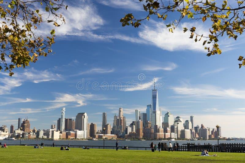 NYC from NJ stock photos