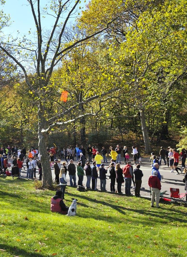 Download NYC Nov 7: Crowds Watch 2010 NYC Marathon Editorial Image - Image: 16866780