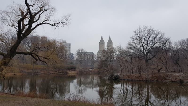 NYC odbicia obrazy royalty free