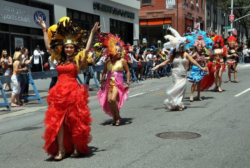 NYC: Parata di festa dell'indipendenza delle Filippine immagine stock libera da diritti