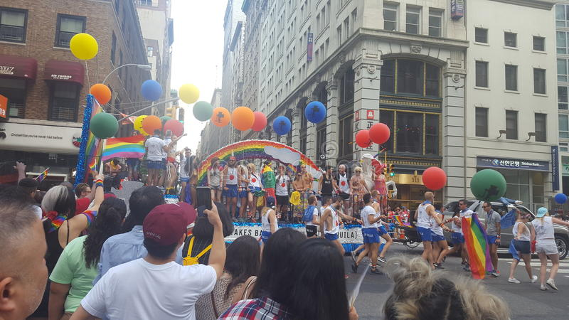 NYC Pride Parade images stock