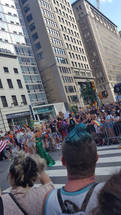 NYC Pride Parade photo libre de droits