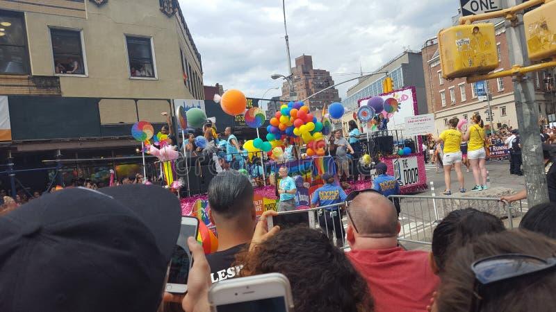 NYC Pride Parade photographie stock