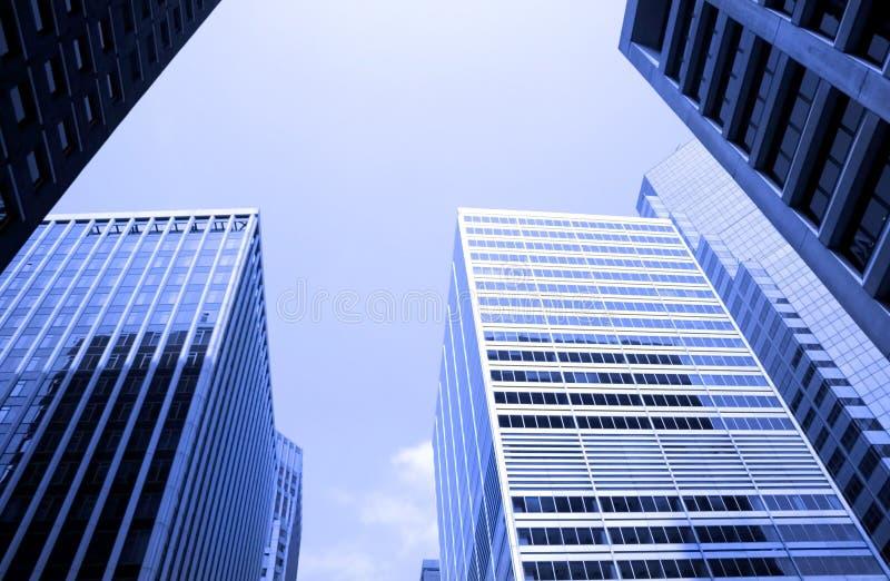 nyc s зданий высокорослое стоковые фото
