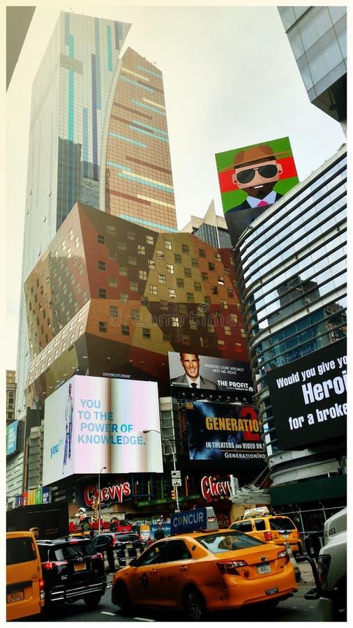 NYC - Skönhet i kaos royaltyfri foto