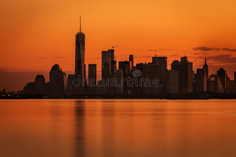 Nyc skline royalty free stock images