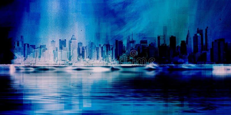 NYC-Skyline vektor abbildung